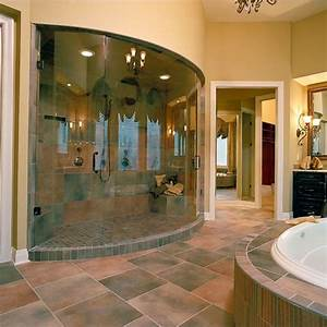 Unique curved glass shower enclosure by #ryansallglass # ...