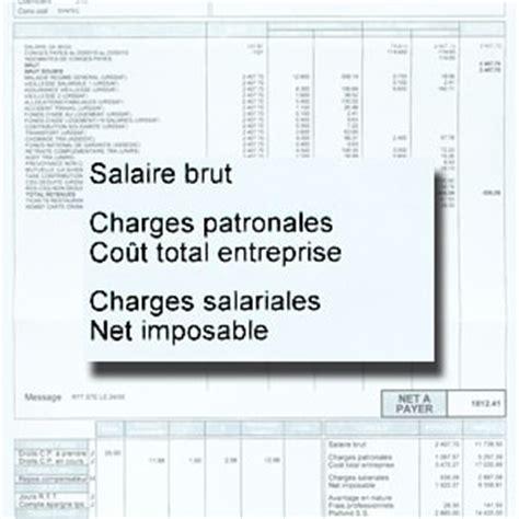 calcul salaire net brut cadre a quoi correspond le salaire imposable d 233 chiffrer une fiche de paie un bulletin de salaire