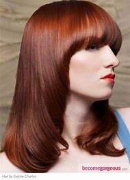 Intense Auburn Red Hair Color