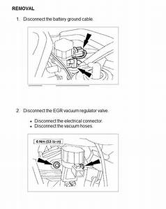 What Is Egr Vacuum Regulator On A Ford Escape V6 Xlt