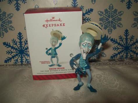 heat miser christmas ornament hallmark snow miser 2014 ornaments a year without a santa claus