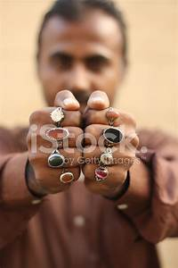 Pakistani Man With Rings stock photos - FreeImages com