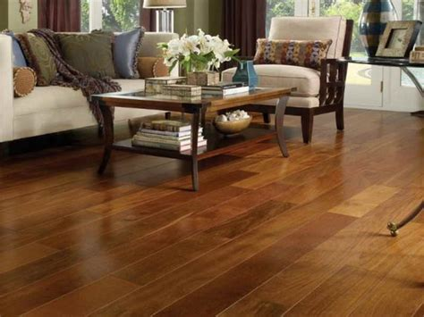 wood laminate flooring   simple  chic home