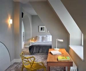 schlafzimmer ideen wandgestaltung With schlafzimmer ideen dachschräge