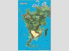 Aventurienkarte aus Regionalplänen Orkenspalter