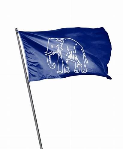 Flag Bsp Samaj Bahujan Aam Aadmi Transparent
