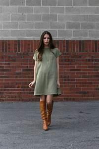 Bottines Avec Robe : la robe tunique une belle tendance d 39 t ~ Carolinahurricanesstore.com Idées de Décoration