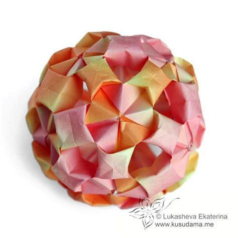 Kusudama Me! - Modular origami! | Origami, kirigami, Origami cube, Origami techniques