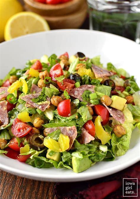 italian sub salad recipe good eats italian sub