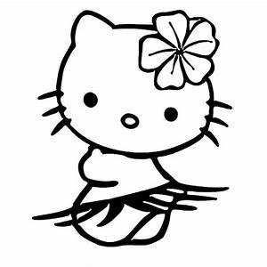 Hello Kitty Autoaufkleber : hello kitty hula laptop car truck vinyl decal window sticker pv182 baby pinterest plotten ~ Orissabook.com Haus und Dekorationen