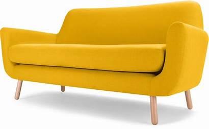Sofa Yellow Furniture Seater Bed Sofas Three