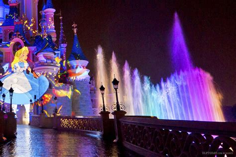 Disney Light Show by Disney Illuminations Will Light Up Refurbished Castle Moat