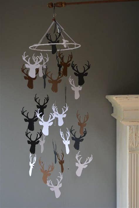 deer mobile for crib 25 best ideas about deer nursery on deer