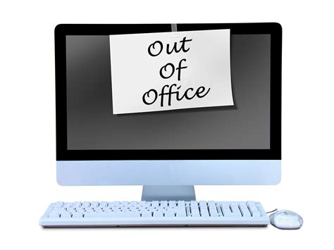 Here's How To Do Your Out Of Office Right