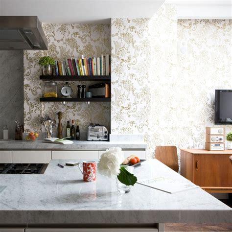 kitchen wallpaper ideas  love