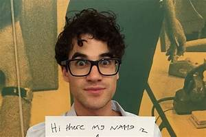 47 Questions With Darren Criss  Star Of  U2018hedwig And The Angry Inch U2019 And  U2018glee U2019 - Speakeasy