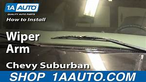 How To Install Replace Wiper Arm Chevy Gmc Pickup Truck