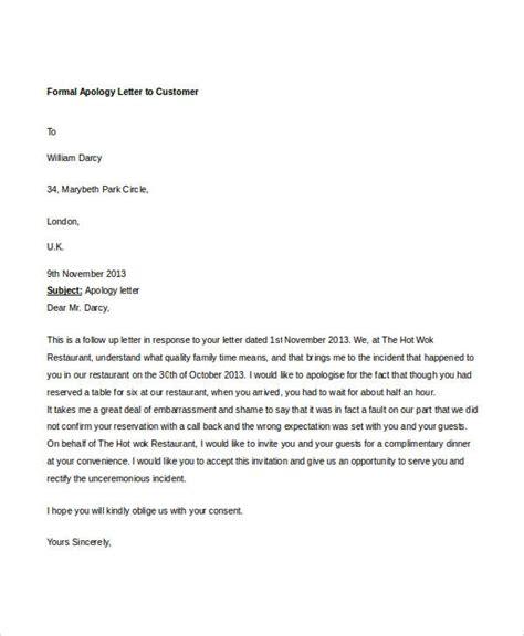 formal letter sample template   word