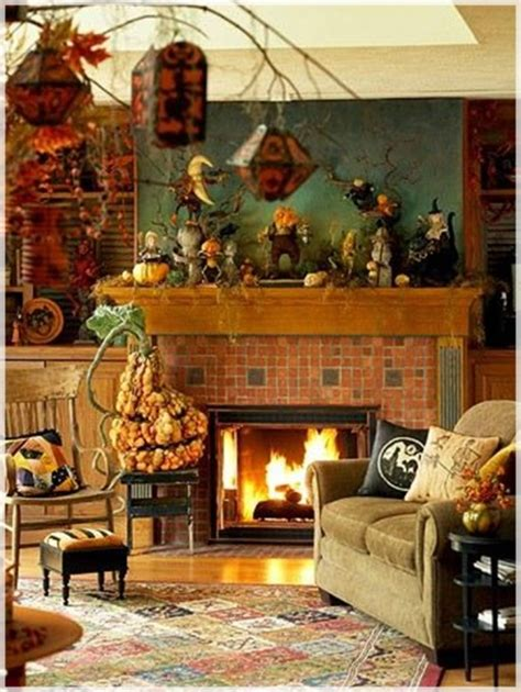 Primitive Country Decorating Ideas For Living Rooms by 55 Halloween Party Decorating Ideas Ultimate Home Ideas