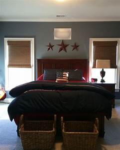 sherwin williams serious gray on wall guest bedroom