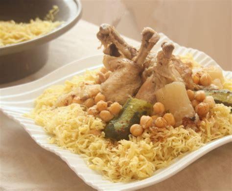 cuisine petit pois rechta algéroise le de cuisine algerienne