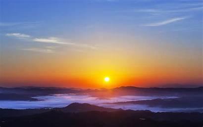 Sunrise Wallpapers Android Sun Evening Desktop Rise