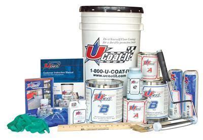 Epoxy Garage Floor: U Coat It Epoxy Garage Floor Coating