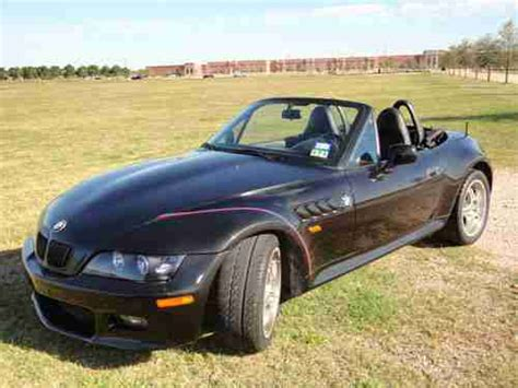 Sell Used 1999 Bmw Z3 Black Manual 5-speed 6cyl 2.8l