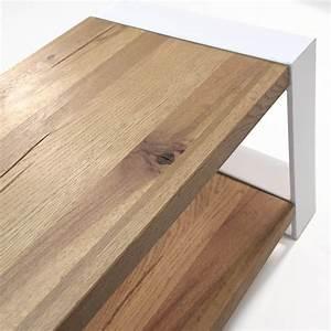 Lowboard Eiche Weiß : lowboard mio eiche massivholz metall wei 180cm ~ Whattoseeinmadrid.com Haus und Dekorationen