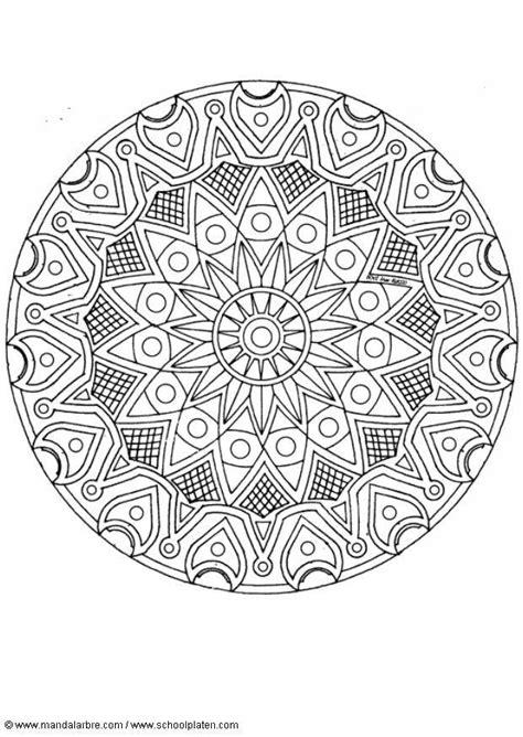 malvorlage mandala  ausmalbild