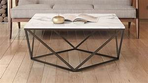 popular 225 list faux marble coffee table With faux white marble coffee table