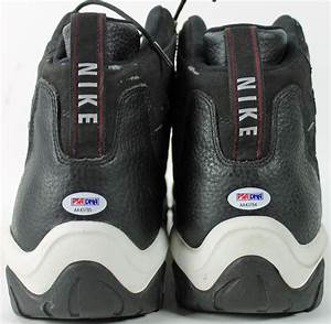 Lot Detail - Alonzo Mourning Game Used & Signed Nike Shoes ...