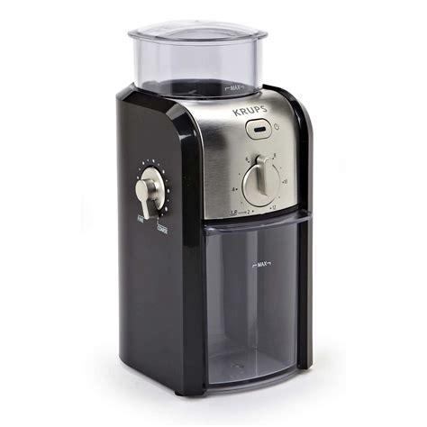 No need to look further. Krups Adjustable Burr 12 Cup Coffee Grinder | Kitchen Stuff Plus
