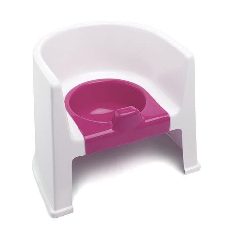 The Potty Chair by The Neat Nursery Co Potty Chair White Pink At