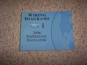 2006 Ford Expedition Wiring Diagram Manual Xls Xlt Sport