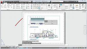 Autocad 2013 Tutorial  How To Plot A Drawing Layout
