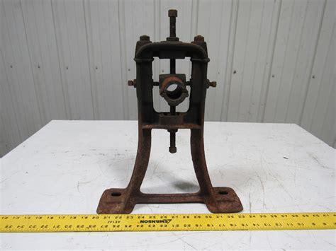 vintage steampunk industrial machine cast iron  shaft