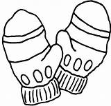 Mittens Coloring Mitten Winter Hat Draw Gloves Drawing Printable Template Colorings Getcolorings Sketch Getdrawings Cap Clipartmag sketch template