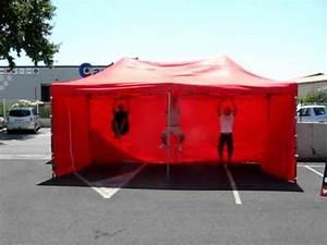 Barnum Pliant 3x6 : barnum pliant 3x6 test 230kg 3 personnes youtube ~ Carolinahurricanesstore.com Idées de Décoration