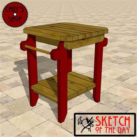 grill side table outdoor grill side table chief 39 s shop