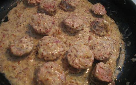 cuisiner andouillette recette andouillettes poêlées 750g