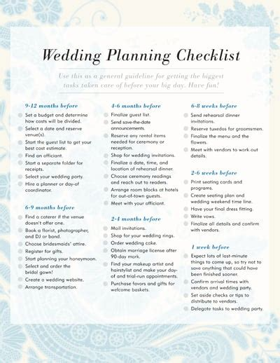 Wedding Planning Checklist  Free Printable Checklists. 50th Wedding Anniversary Keepsakes. Cheap Wedding Venues Minnesota. Best Wedding Planner Mallorca. Wedding Place Name Cards Template. Wedding Kosha Design. Butterfly Arrangements Wedding. Wedding Photo Studio In Yangon. Personalized Wedding Favors Gift Tags
