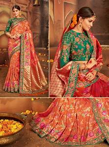 Top Trends Of Wedding Saree Design 2019