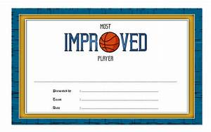 Most Improved Player Certificate Template  7  Best Choices