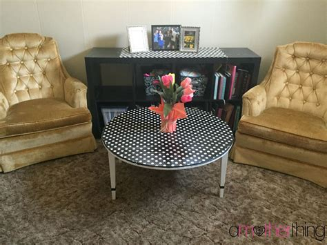 Hometalk  Coffee Table Revamp Using Wrapping Paper And