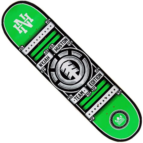 Nyjah Huston Element Deck by Element Nyjah Huston Rollin Deck In Stock At Spot Skate Shop