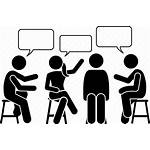 Icon Discussion Talking Discuss Meeting Discussing Conversation