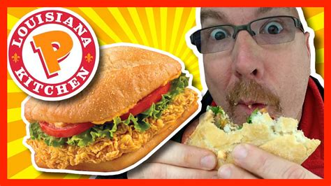 Popeyes Louisiana Kitchen ★ Spicy Chicken Sandwich Combo ...