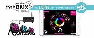 Lichtsteuerung Per App : freedmx ap wi fi interface eurolite ~ Watch28wear.com Haus und Dekorationen