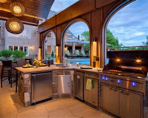 house plans with pools and outdoor kitchens 12 gorgeous outdoor kitchens hgtv 39 s decorating design